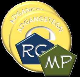 Adgangstegn Mp og RG
