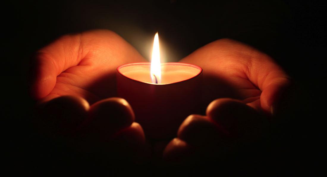 Bønn med lys2